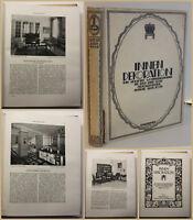 Koch Innendekorationen 33. Jahrgang 1922 Hausbau Einrichtung Freizeit Bauen sf