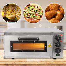 Forno Per Pizza Elettrico Fino A 350°C Con Piastra In Pietra E Timer - Da 2000W