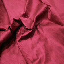 100% Silk Dupion Fabric 80 Colours! Sold as a Sample - Half Metre - Per Metre