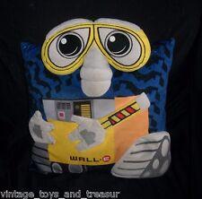 """14"""" x 13"""" DISNEY WALL-E YELLOW ROBOT PIXAR THROW PILLOW BEDDING PLUSH TOY DOLL"""