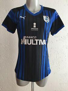 Queretaro FC Home Shirt 2018-2019 Gallos Blancos Womens Jersey Puma Mexico BNWT