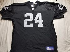 Charles Woodson Oakland Raiders Reebok Authentic Jersey sz 54 XL