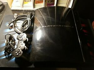 SONY PlayStation 3 PS3 Fat CECHE01 Backwards Compatible WORKS 100%