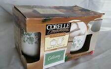 Corelle Callaway Ivy Sugar Creamer Coordinates Accessories Set Corning NIB