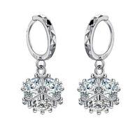 925 Sterling Silver CZ Rubik's Cube  Drop Dangle Earrings for Women Jewelry Gift