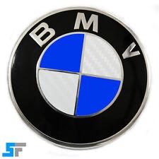 70x BMW Emblem Aufkleber - 3D Carbon - weiß - Felge Logo 1 2 3 4 5 6 M X
