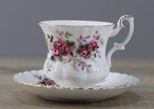 Royal Albert Lavender Rose kleine Kaffeetasse gr. Espressotasse Höhe ca. 6,8 cm