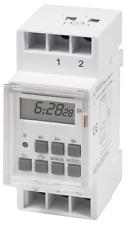 Digitale Zeitschaltuhr Schalttafel Hutschiene Schaltschrank 8 Progr 230V 16A