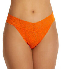Hanky Panky Signature Lace Original Rise Thong (Satsuma Orange/One Size) 4811
