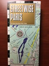 Brand NEW! 2016 Streetwise Paris, France Laminated City Center Street Map. HOT!