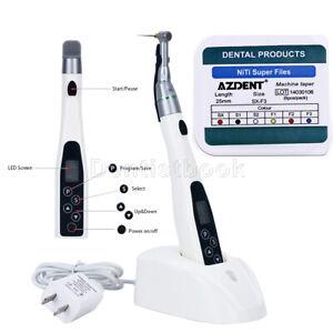 Dental LED Endodontic 16:1 Endo Motor Handpiece + Endo Motor Rotary Files SX-F3