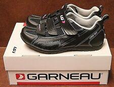Louis Garneau Women's Multi Lite Cycling Shoe Black/Silver Sz 36 EU/US 6 NIB