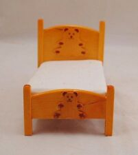 Bed - Teddy Bear Theme  dollhouse furniture 1pc T6466  1/12 scale child's