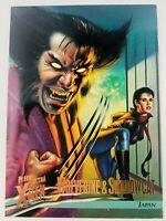 1996 Fleer Ultra X-Men #36 Wolverine & Shadowcat Japan