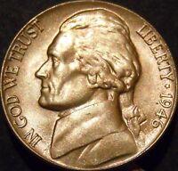 1946-D Jefferson Nickel Choice/Gem BU Uncirculated