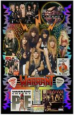 "Warrant Fan Poster - 11x17"" Vivid Colors"
