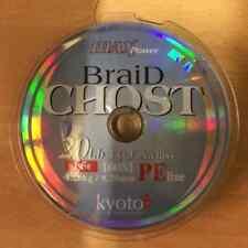 Ghost Braid - 20lb - Max Power PE Line - 100M - Braided Fishing Line