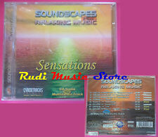 CD Soundscapes Plus Relaxing Music SENSATIONS Compilation SIGILLATO no vhs(C64