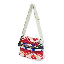 Catori Red Blue Navajo Bohemian Chic Aztec Handbag Crossbody Shoulder Bag New