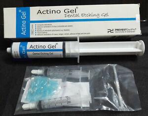 Prevest DenPro Actino Etching Gel Jumbo Blue Tinted Viscous Gel 37% Phosphoric,!
