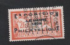 FRANCE N°257a 2 f merson exposition philatélique le havre oblitéré