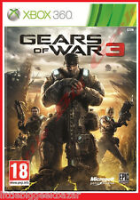 GEARS OF WAR 3 X-box 360 xbox Microsoft Jeu Video # NEUF#