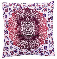 """Indian New Ombre Pillow Case Square Bedroom Sofa Art Cushion Cover Purple 16"""""""