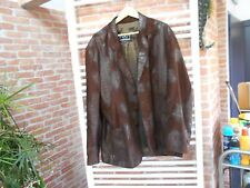 VESTE CUIR HOMME SAM T 56 TONY MONTANA SCARFACE LOOK BAD BOY RARE 39€ ACHAT IMM
