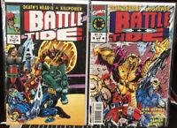 Battle Tide #2 & Battle Tide 2 #3 Mixed Lot NM Cond