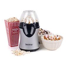 Beldray EK2902BGP Healthy Popcorn Maker with Measuring Cup, 1200 W, Silver, 30cm