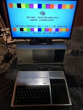 Texas Instruments TI-99/4A Computer Peripheral Expansion Box (PEB) With Games