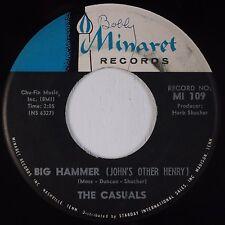 THE CASUALS: Big Hammer / Money MINARET Soul 45 Rare HEAR
