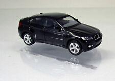 Herpa 024037 002 BMW X6 E71 schwarz Scale 1 87 NEU OVP