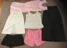 Vintage Lot Size S & M  Nightie Half Slip   Camisole & Petishorts Lot