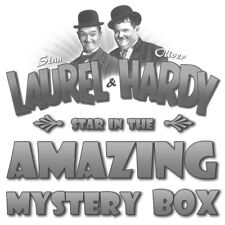 New Laurel & Hardy Amazing Mystery Great Value Open Gift Box
