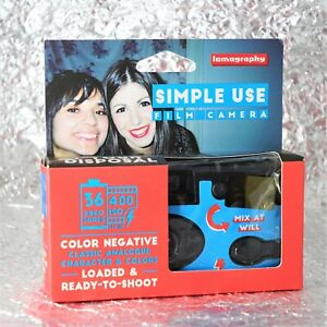 *NEW* Lomography Simple Use 400 RE-USABLE camera
