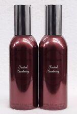 2 Bath Body Works FROSTED CRANBERRY Mini Room Spray Perfume Air Freshener 1.5 oz