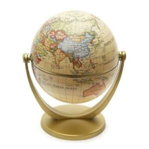 Vintage English Edition Globe World Map Decoration Earth Globes with Base Home