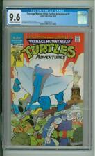 Teenage Mutant Ninja Turtles Adventures # 5 CGC 9.6 Statue OF Liberty Cover 1989