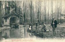 Carte postale saint-amand-sur-Fion Champagne France les sites tu fion 1910