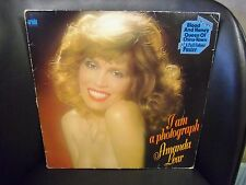 Amanda Lear I am a Photograph VG+ LP Ariola-Eurodisc Studios 1977 W/poster