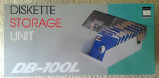 "Retro 5¼"" Floppy Disk Storage Case *Brand New in Box* 5.25 C64 Amiga Vintage"