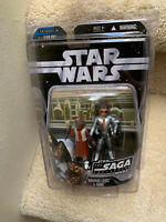 STAR WARS SAGA EPISODE IV A NEW HOPE NABRUN LEIDS & KABE EXCLUSIVE w/ protector