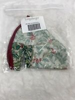Longaberger Traditions - American Holly Liner 20048135 100% Cotton - NIP