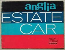 FORD ANGLIA ESTATE Car Sales Brochure 1961 #M00310/861