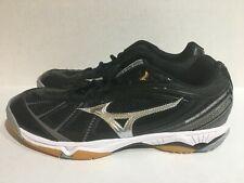 Mizuno Wave Hurricane 2 Volleyball Shoes Women's Size 10.5 Black