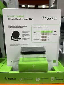 Belkin Boost Up Wireless Charger for Apple, Samsung, LG Sony 10w BU001-BK-CC....