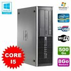 PC HP Compaq Elite 8100 SFF Intel Core i5 650 3.2GHz 8Go 500Go Graveur WIFI W7
