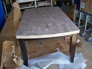 Marble Dining Table Fossil Stone 72L x 42W x 32H
