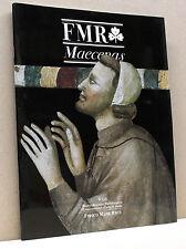 FMR Maecenas 8/92 [mostre restauri pubblicazioni il mecenatismo d'arte in italia